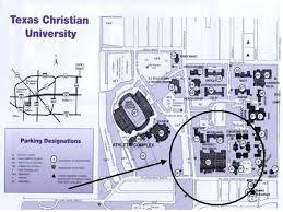 tcu parking map gofrogs com directions to the rec center tcu horned frogs