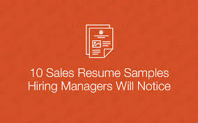 Resume Sample Sales by 10 Samples Sale Cover Png
