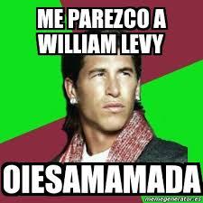 William Levy Meme - meme sergio ramos me parezco a william levy oiesamamada 3683477