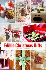 sunday inspiration edible christmas gifts