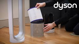 tower fan with air purifier dyson pure cool link tower purifier fan replacing the filter uk