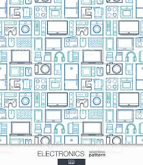 Wallpaper Shop Home Electronics Wallpaper Digital Shop Seamless Pattern Stock