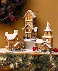 lighted christmas decorations indoor rustic indoor christmas decorations holiday decor lighted wood