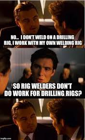 Welding Meme - inception meme imgflip