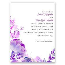 save the dates watercolor save the date card invitations by