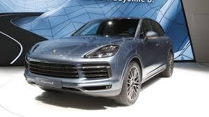 porsche graphite blue interior most expensive 2019 porsche cayenne turbo costs 166 310