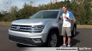 volkswagen atlas sel review 2018 volkswagen atlas sel premium youtube