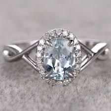 aquamarine engagement rings compare prices on white aquamarine engagement rings online