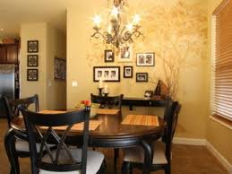 small dining room wall mural small home decoration ideas photo in