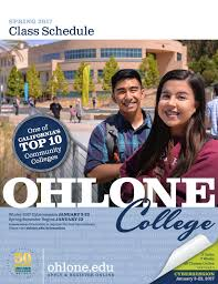 spring 2017 ohlone college class schedule by ohlone college issuu