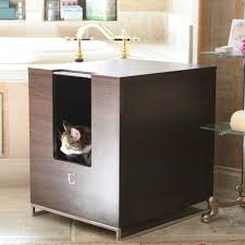 modern litter box cabinet modern cat designs litter box hider brown purrfect cat breeds