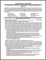 Accounting Resume Examples And Samples by Corporate Accountant Resume Sample The Resume Clinic