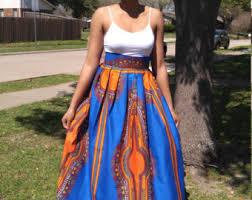 african skirt african print skirt african maxi skirt dashiki