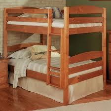 Bunk Beds Pine Woodcrest Pine Ridge Square Post Size Bunk Bed
