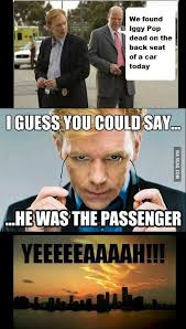 Horatio Caine Meme - horatio caine and iggy pop 9gag