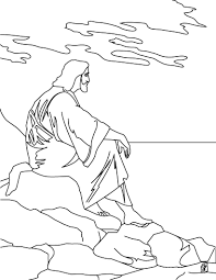 coloring pages jesus eson me