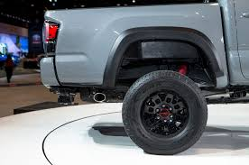 toyota tacoma tire size six things you didn t about the 2017 toyota tacoma trd pro