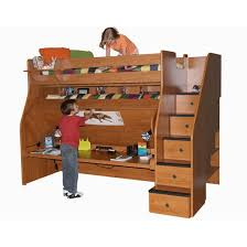 Berg Metropolitan Transforming XL Twin Over Twin Bunk Bed With - Extra long twin bunk bed