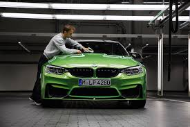 java green bmw dtm champion given special java green bmw m4