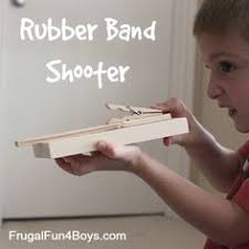 gatling rubber band machine gun easy weekend project rubber