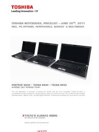 download toshiba notebook pl consumer docshare tips