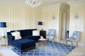 Floral Sofas In Style Living Room The Most Stylish Blue Sofa In With Regard To Property