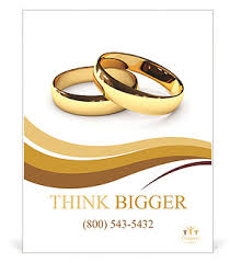 wedding poster template wedding rings on a white background poster template design id