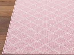 Pottery Barn Coral Rug by White And Light Pink Rug For Nursery Light Pink Rug For Nursery