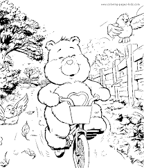 tenderheart care bear coloring book coloring pages kids