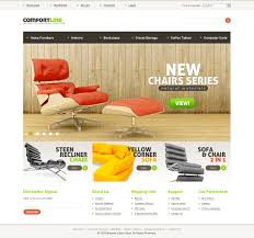 website template 32286 comfort line furniture custom website