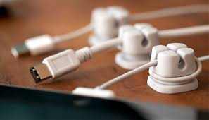 Desk Cord Organizer Quirky Cordlets Cable Organizer Gadgetsin