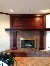 Remove Brick Fireplace by Fireplace Help How To Remove Stain U0026 Construction Adhesive From Brick