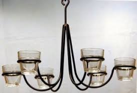 Chandelier Candle Mesmerizing Wrought Iron Hanging Candle Chandelier For Designing