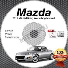 2011 mazda miata mx 5 service manual cd workshop repair 2 0l nc