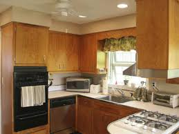 Old Kitchen Cabinets Painted Kitchen Cabinet Wood Colors Examples Painting Cabinets Color