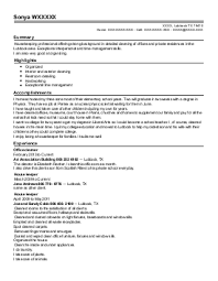 Housekeeping Manager Resume Sample by Housekeeping Resume Samples Housekeeping Resume Examples Good