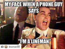 Pics Meme Com - 322 best lineman linewife memes designs images on pinterest