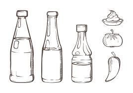 bottle in hand vector free vectors ui download