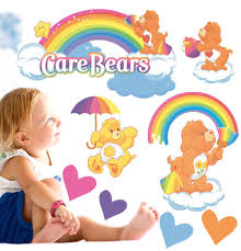 rainbow care bears movable wall stickers ebay rainbow care bears movable wall stickers