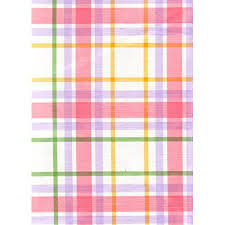 Patio Tablecloth Round Rainbow Plaid Vinyl Patio Tablecloth With Umbrella Hole And Zipper