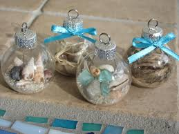 nautical holiday ornament craft idea clear christmas ornaments