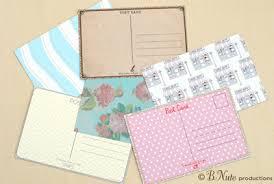 bnute productions scrapbook paper ideas perfect postcards