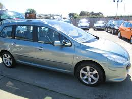 peugeot cars 2006 used 2006 peugeot 307 sw sw se hdi 7 seater for sale in bognor