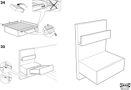 ikea bedside cabinets malm ides de ikea tromso bunk bed instructions galerie dimages