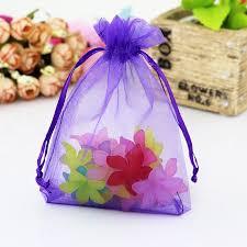 organza bag 100pcs lot big size organza bags wedding favor cosmetics candy