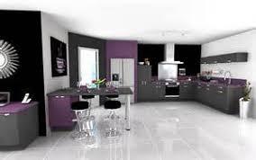 cuisine violine cuisine plan de travail gris 15 meuble de cuisine blanc et