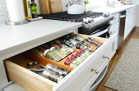 Spice Cabinet Organization How We Organized Our Kitchen Cabinets U0026 Drawers A Video Tour