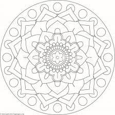 tribal mandala coloring pages 108 u2013 getcoloringpages org