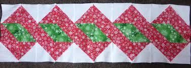 vicki u0027s fabric creations christmas table runner sneek peek