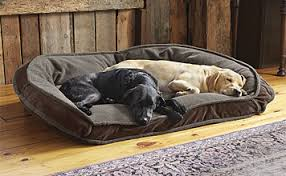 Dog Beds With Cover Comfortfill Fleece Bolster Dog Bed Orvis Comfortfill Bolster Dog